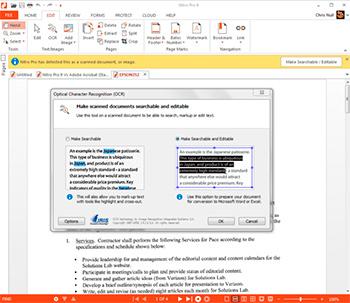 acrobat pro export editable pdf