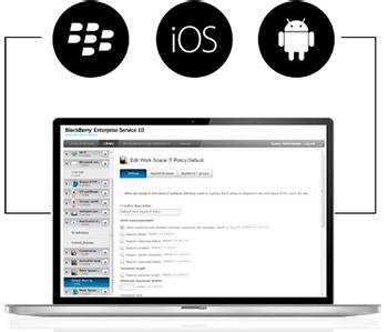 BlackBerry Secure Work Space