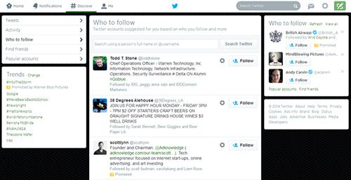 Generación leads Twitter