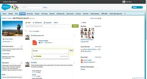 Sharepoint Salesforce