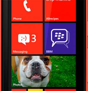 Blackberry BBM Windows Phone