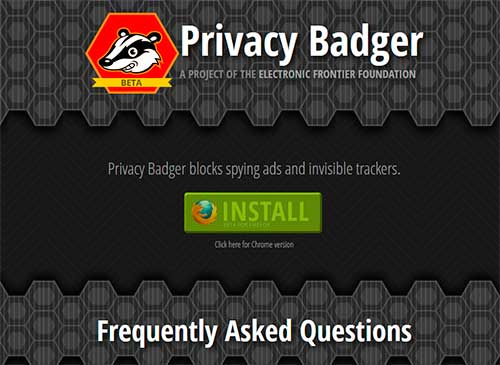 EFF Privacy Badger