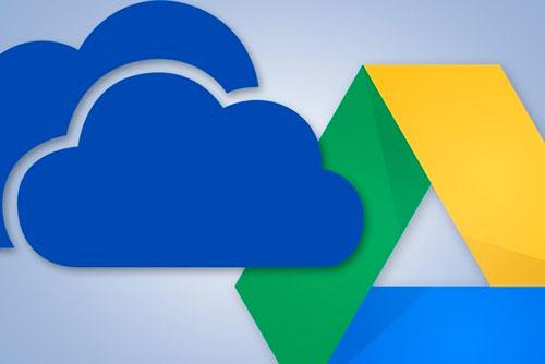 Microsoft OneDrive, Google Drive for Work