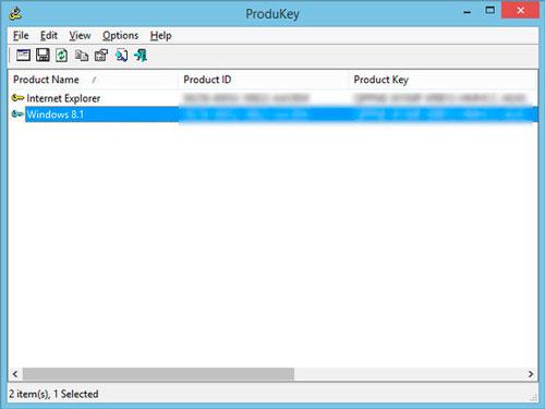 Windows 8 ProductKey PID