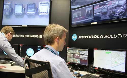 Centro de soluciones de misión crítica de Motorola Solutions