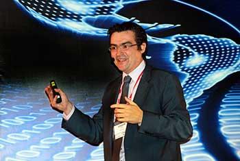 Joaquín Ramos, subgerente de nube y seguridad de la gerencia digital de Telefónica Chile.