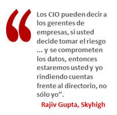 Rajiv Gupta, Skyhigh