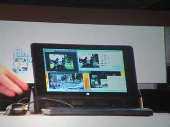 Tecnología Intel para pantalla, docking y conector sin cables