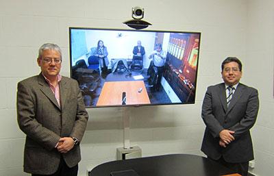Ministerio Justicia Polycom videoconferencia