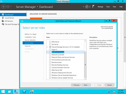 Windows Server 10 Technical Preview