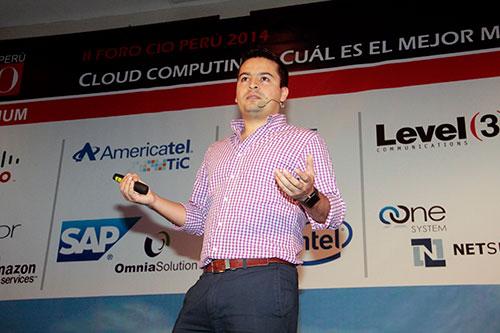 Foro CIO Perú cloud comuting AWS Henry Alvarado