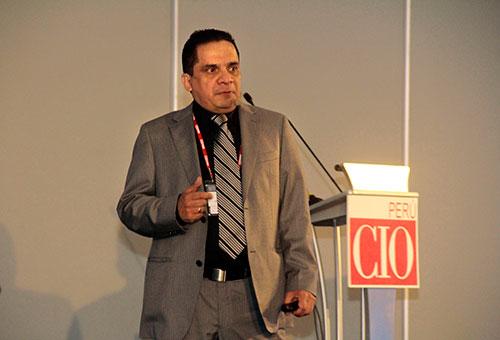 Foro CIO Perú cloud computing, Medrock Gino Michelini