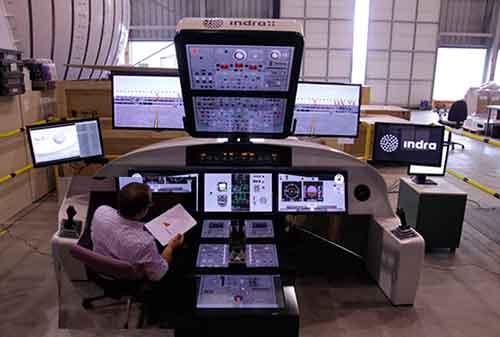 Simulador vuelo Airbus Indra
