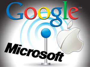 Suites en línea, Google, Microsoft, Apple