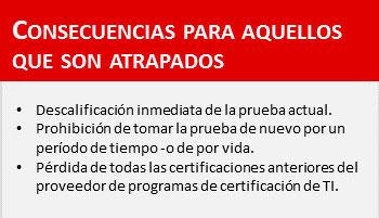 Trampa certificaciones