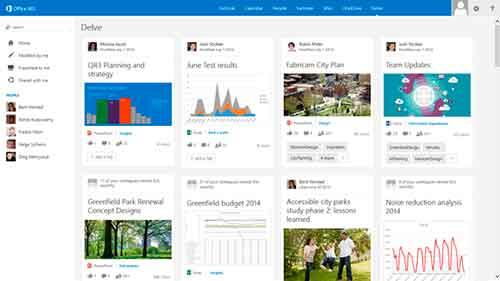 Microsoft Delve Office 365