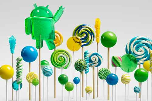 Android Lollipop.