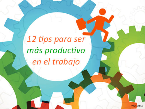 Tips para ser ms productivo