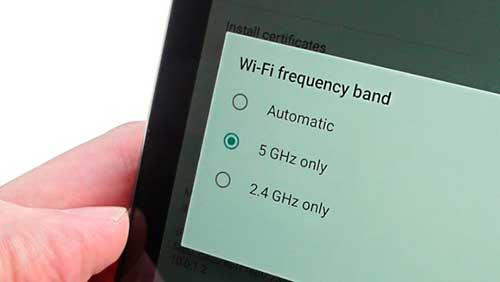 Wi-Fi, Android
