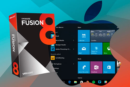 VMware Fusion 8 Windows 10