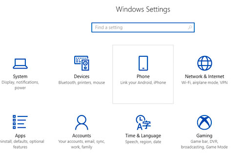 Windows 10, Android, iOS