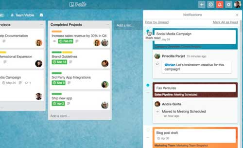 Trello, Atlassian