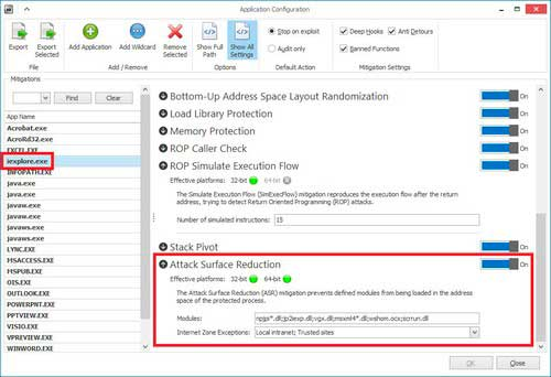 enhanced mitigation experience toolkit, microsoft