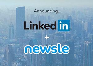 linkedin, newsle