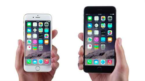 apple iphone 6 y iphone 6 plus