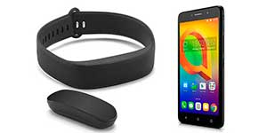 Alcatel A2XL y Move Band BT