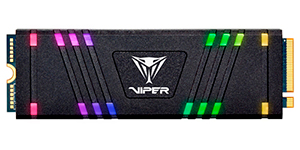 PATRIOT Viper Gaming SSD VPR100 RGB M.2 2280 PCIe