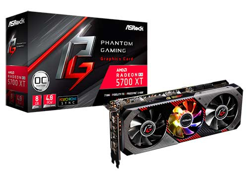 asrock phantom gaming radeon rx 5700